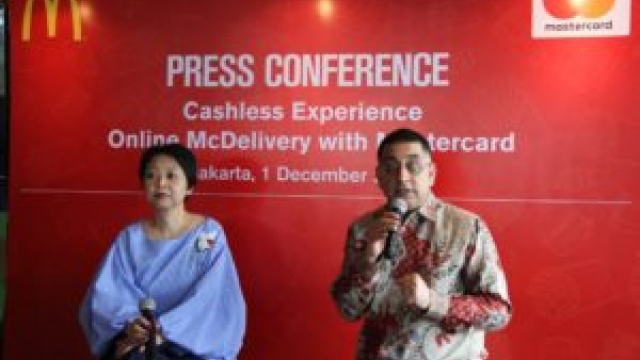 Genjot Transaksi Online, McDonald's Luncurkan Cashless Experience